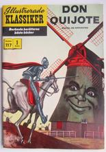 Illustrerade Klassiker 117 Don Quijote 1:a uppl Vg+