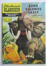 Illustrerade Klassiker 026 Kung Salomos skatt 3:e uppl. VF