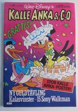 Kalle Anka & Co 1984 23 med bilaga