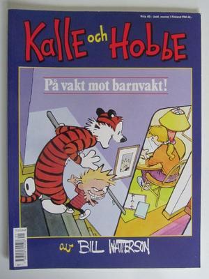 Kalle och Hobbe På vakt mot barnvakt