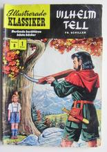Illustrerade Klassiker 008 Wilhelm Tell 1:a uppl. Good-