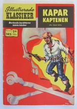 Illustrerade Klassiker 145 Kaparkaptenen 2:a uppl Vg