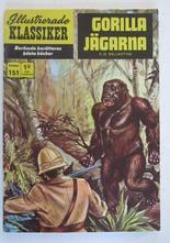 Illustrerade Klassiker 151 Gorillajägarna 1:a uppl Good