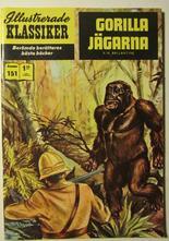 Illustrerade Klassiker 151 Gorillajägarna 2:a uppl Fn-