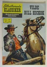 Illustrerade Klassiker 027 Vilde Bill Hickok 5:e uppl. Fn-