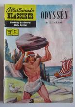 Illustrerade Klassiker 025 Odyssén 5:e uppl. Good-