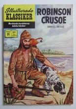 Illustrerade Klassiker 031 Robinson Crusoe 4:e uppl. VF