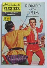 Illustrerade Klassiker 034 Romeo och Julia 1:a uppl. Fn