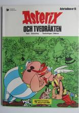 Asterix 15 Asterix och tvedräkten 1:a upplagan Fn-