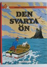 Tintin 15 Den svarta ön 10:e uppl.