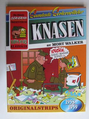 Samlade Serierariteter Knasen 1958-59