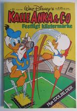 Kalle Anka & Co 1984 31 med bilaga