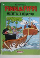Finn och Fiffi Serieförlaget 03 Mozart blir kidnappad