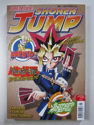 Shonen Jump 2004 01 med bilaga