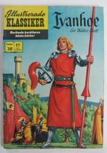 Illustrerade Klassiker 038 Ivanhoe 3:e uppl. Vg+