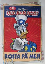Kalle Ankas pocket 359 Rösta på mej