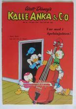 Kalle Anka 1966 10 Vg+