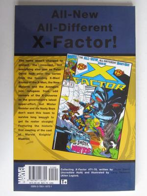 X-Factor Visionaries Vol 1