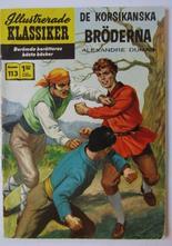 Illustrerade Klassiker 113 De korsikanska bröderna 2:a uppl Good