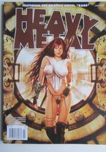 Heavy Metal Magazine 2008 07 July