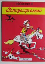Lucky Luke 58 Ponnyexpressen