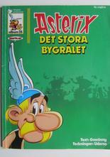 Asterix 25 Det stora bygrälet 3:e upplagan Vg