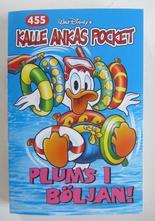 Kalle Ankas pocket 455 Plums i böljan