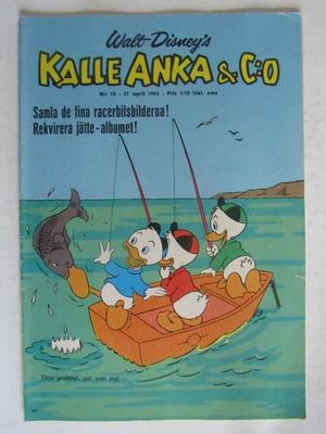 Kalle Anka 1966 16 Vg+