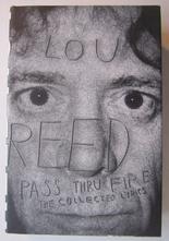 Reed Lou, Pass Thru Fire - The Collected Lyrics