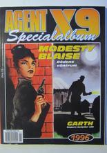 Agent X9 Julalbum 1996 med Modesty Blaise