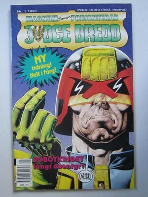 Judge Dredd 1991 01