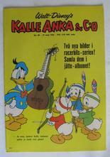 Kalle Anka 1966 20 Vg+