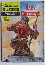 Illustrerade Klassiker 012 Davy Crocket 1:a uppl. Vg-