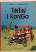 Tintin 22 Tintin i Kongo 1:a uppl. 1978 VF
