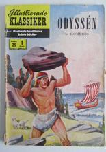 Illustrerade Klassiker 025 Odyssén 1:a uppl. Fair