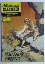 Illustrerade Klassiker 213 Maiwas hämnd 1:a uppl Fair