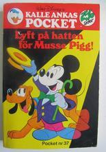 Kalle Ankas pocket 037 Lyft på hatten för Musse Pigg