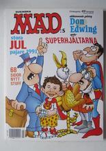 Mad 1991 Mad:s Julpajare