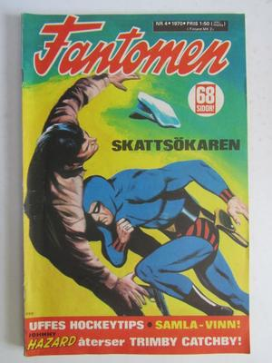 Fantomen 1970 04 Vg