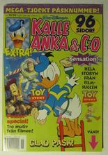 Kalle Anka & Co 1996 15/16 med Toy Story poster