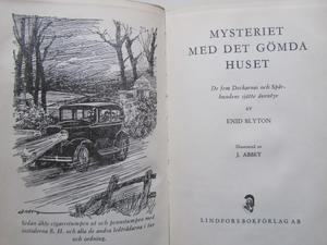Enid Blyton Mysteriet med det gömda huset