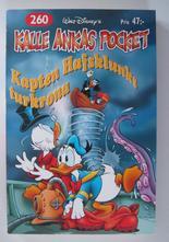 Kalle Ankas pocket 260 Kapten Hafsklunks turkrona
