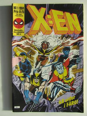X:en 1984 01 Vg+