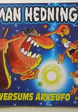 Herman Hedning Julalbum 08 1999 signerad med teckning
