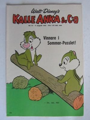 Kalle Anka 1966 31 Fn-