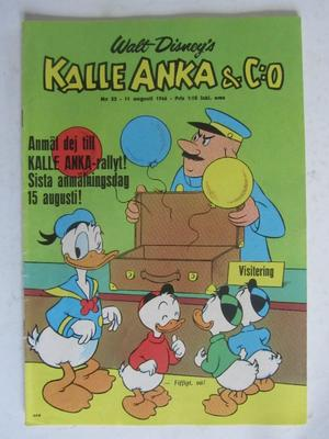 Kalle Anka 1966 32 Vg+