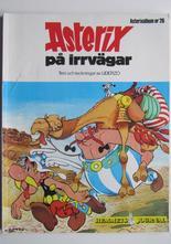Asterix 26 Asterix på irrvägar 1:a upplagan Vg