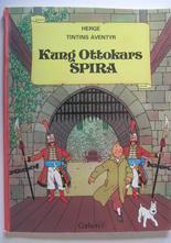 Tintin 02 Kung Ottokars spira 1:a uppl. Vg+