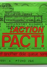 "Action Pact Yet A another dole queue song / Rockaway beach 7"" singel"