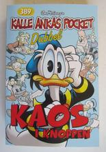 Kalle Ankas pocket 389 Kaos i knoppen